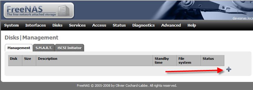 Configurare FreeNAS come iScsi Target
