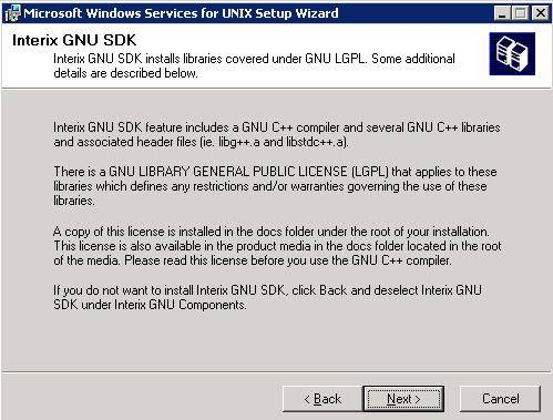 Installare Windows Service for Unix su Windows 2003 Server