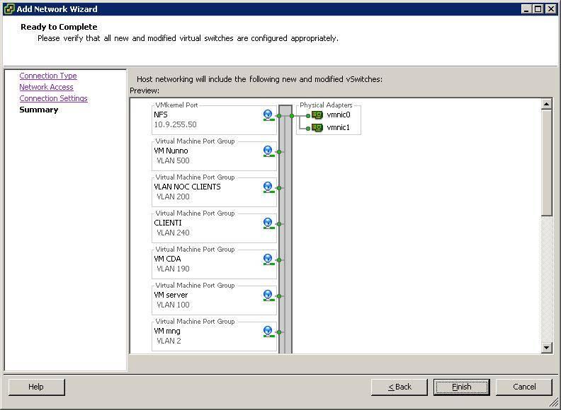 Configurare Vmware ESX per accedere a Share Windows in WMFS
