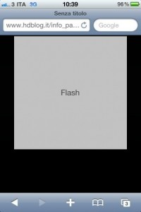 Come vedere i siti ed i video in Flash su iPhone, iPod ed iPad