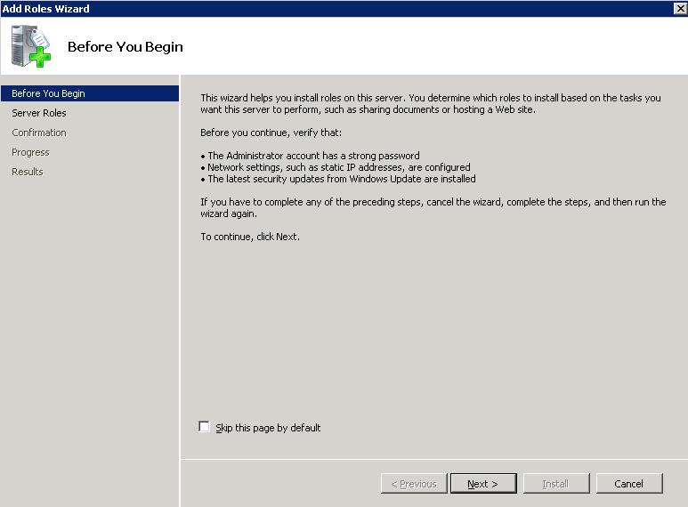 Configurare un Print Server su Microsoft Windows 2008 Server R2
