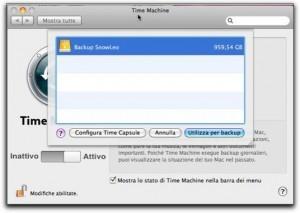 Mac OS X e Time Machine, il backup visto da Apple