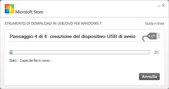 Installare Windows 7 su Netbook da chiavetta USB
