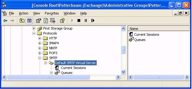 Configurazione SMTP Authentication per Mail Relay Outbound Service con SmartHost in Exchange Server 2003 SP2