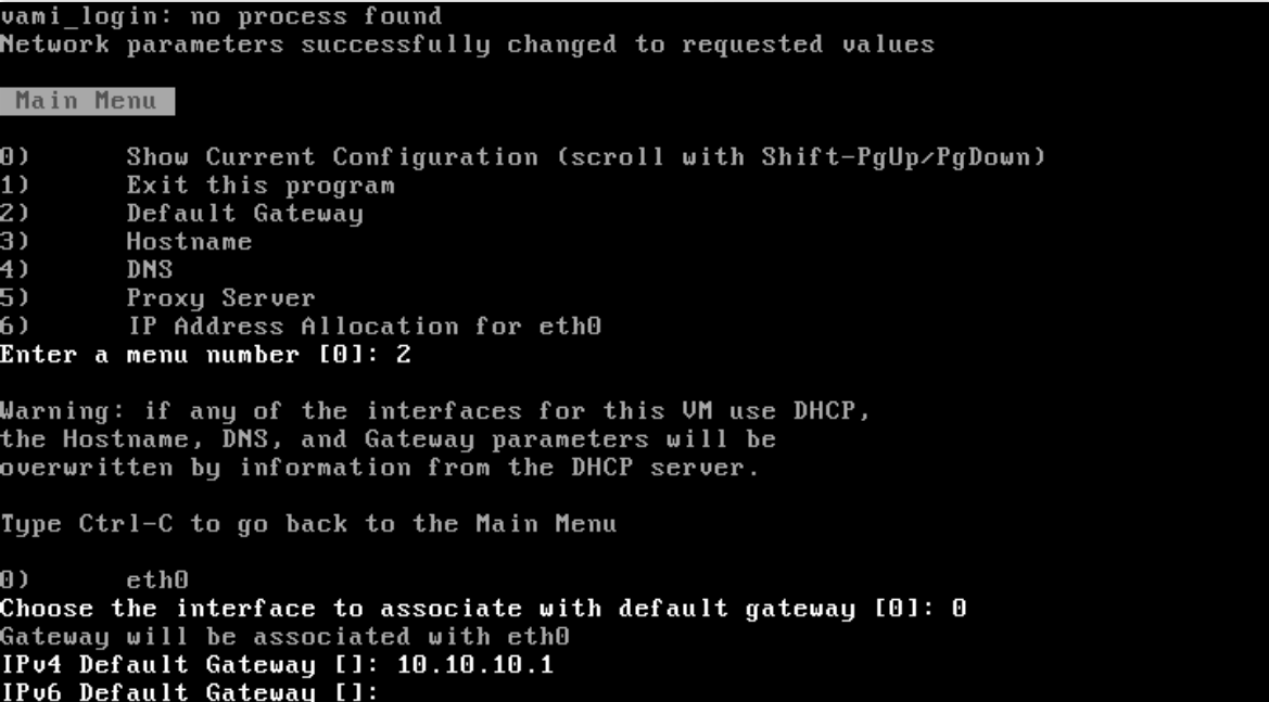 how to set ipv6 default gateway