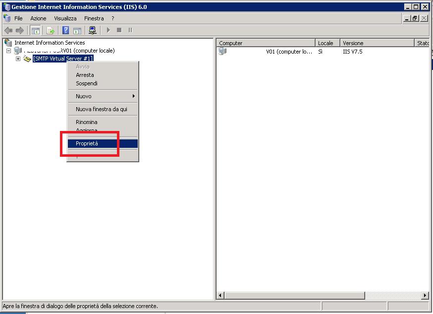 Configurare l'SMTP Server di Microsoft per l'invio delle mail utilizzando come Smarthost GMAIL