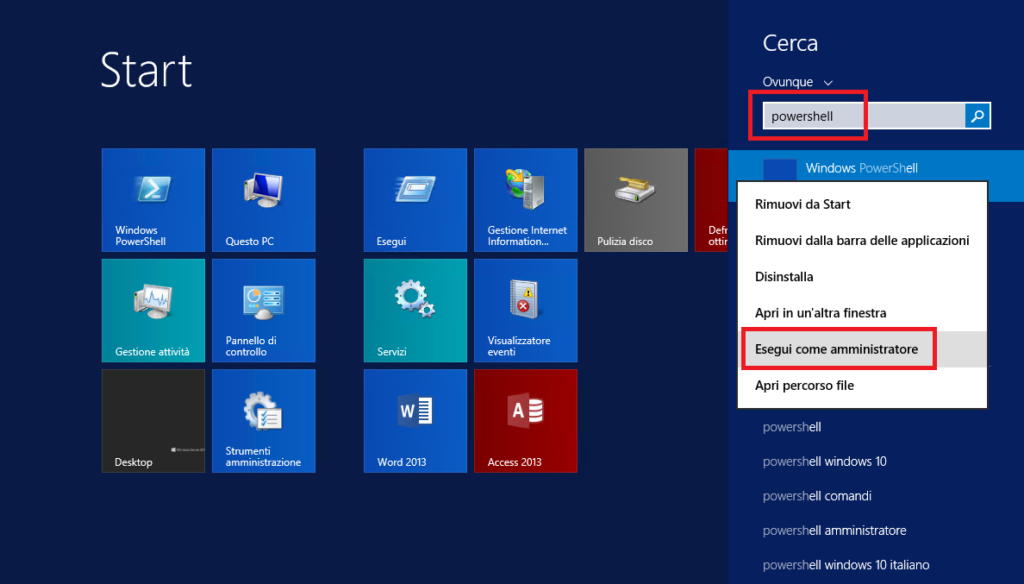 Cambiare il Product Activation Key in Windows Server 2012