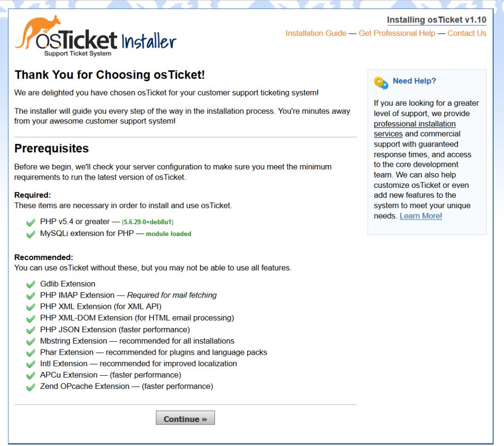 Installare e configurare osTicket su Raspberry