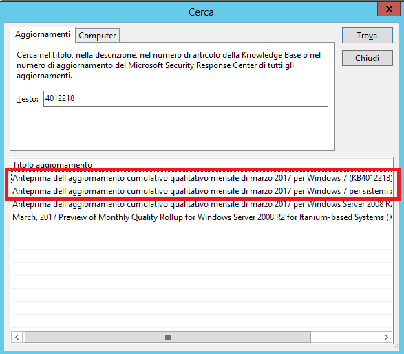 Hardware non supportato in Windows 7 con CPU di ultima generazione (AMD Ryzen e Intel Kaby Lake) - KB4012218