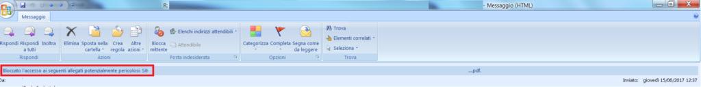 Problema Aggiornamento della protezione KB3191898 per la versione a 32 bit di Outlook 2007