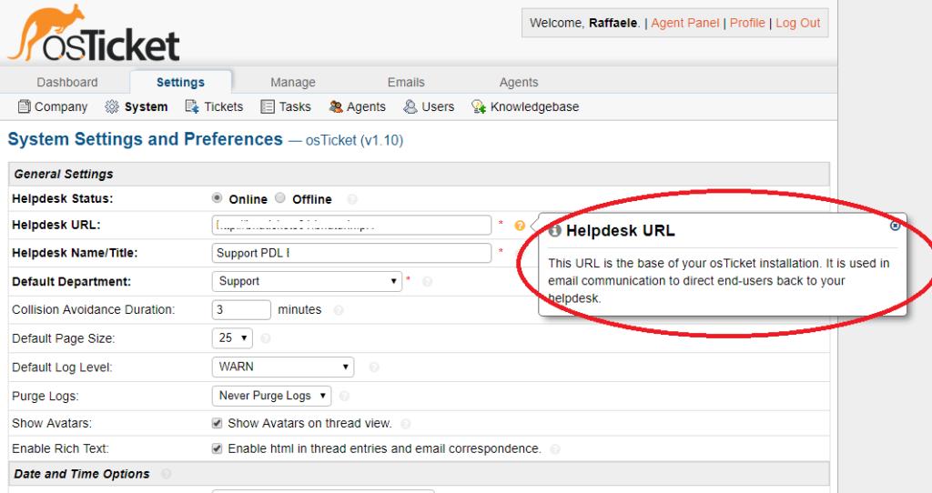 Problema dei Blank Popup in Osticket v. 1.10 su Ubuntu Server 16.04 - Problema di Ajax con Nginx
