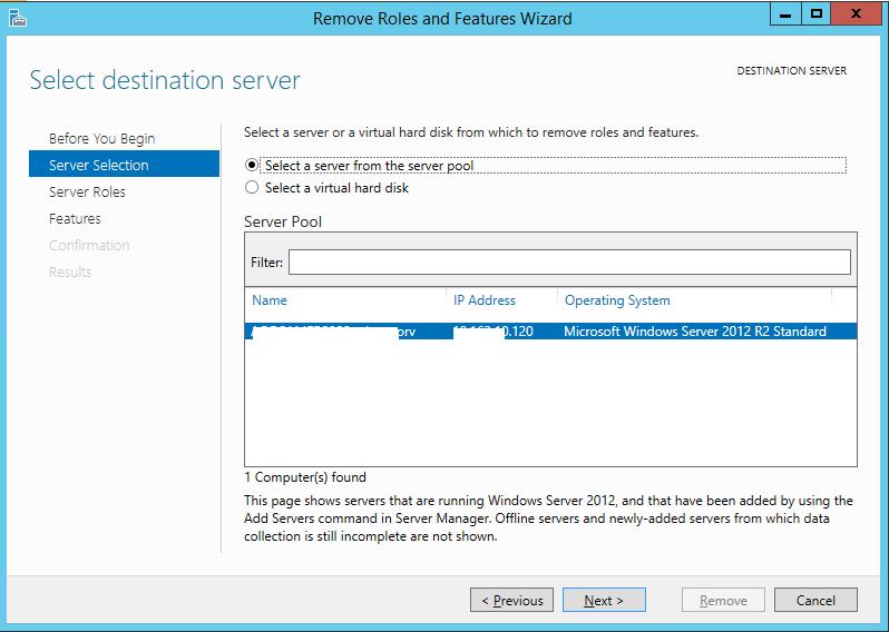 Demote Domain Controller Windows Server 2012 R2