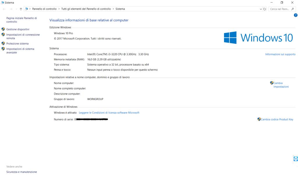 Errore In Windows 10 - La Licenza di Windows sta per scadere
