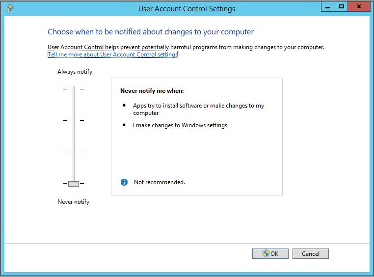 Problema ACL NTFS in Windows Server 2012 R2 - Devi disporre delle autorizzazioni di lettura per visualizzare le proprietà di questo oggetto
