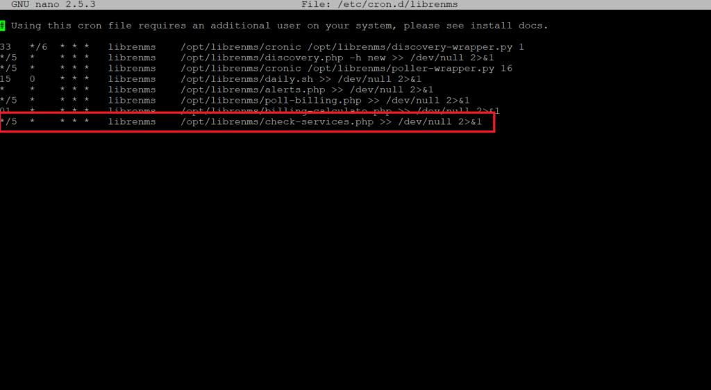 Abilitare il monitoraggio con il PING in LibreNMS utilizzando Nagios