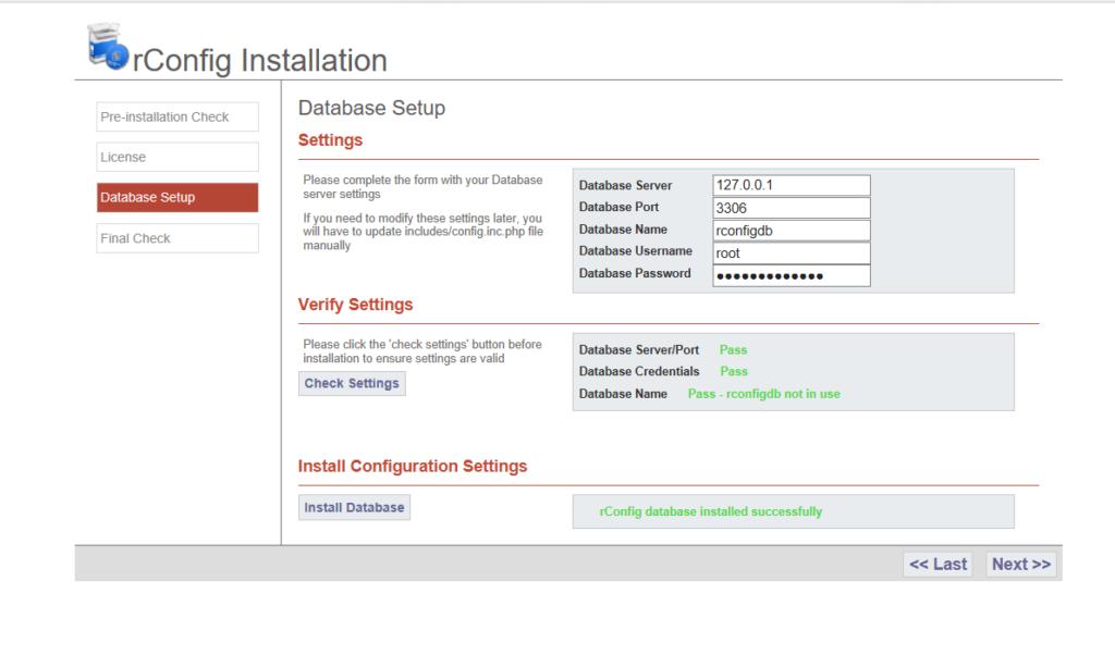 Installazione e Configurazione di rConfig su CentOS 7