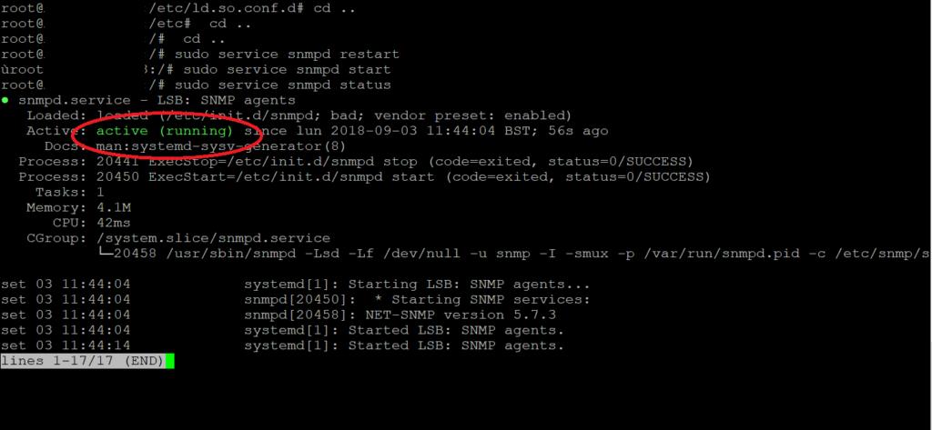 Installazione e Configurazione dell'Agent SNMP in Ubuntu Server 16.04