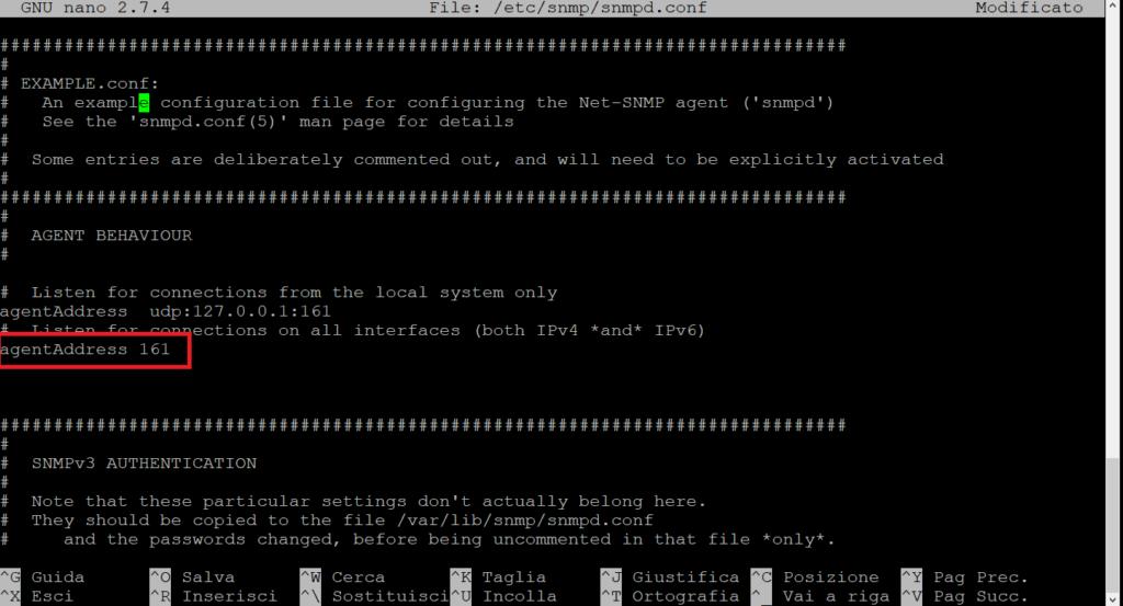 Installazione e Configurazione del demone SNMP su Raspberry Pi per il monitoraggio Remoto
