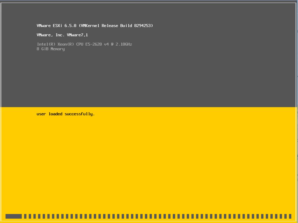 Installazione e Configurazione Base di Vmware ESXI 6.5
