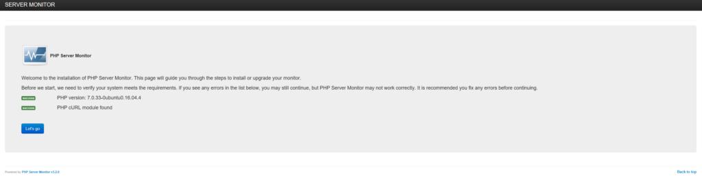 Installazione e Configurazione di PHP Server Monitor 3.2.0 su Ubuntu Server 16.04
