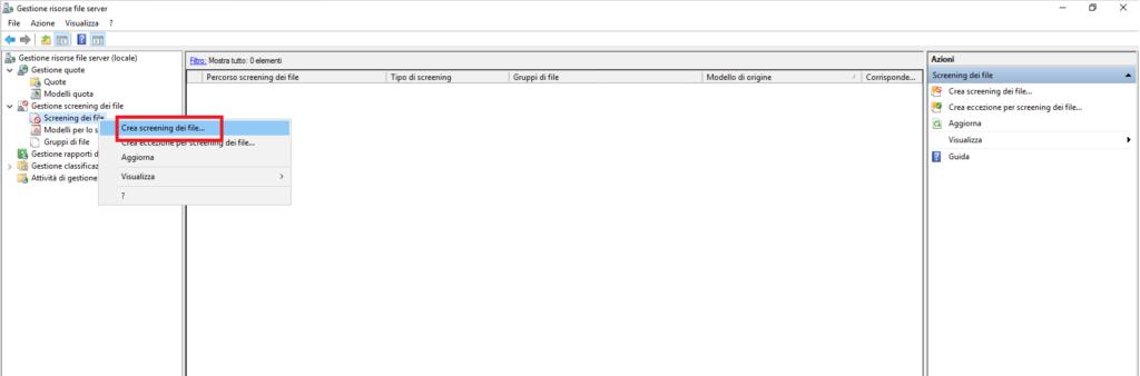 Bloccare i Ransomware su File Server Microsoft Windows con l'utility File Server Resource Manager (FSRM)
