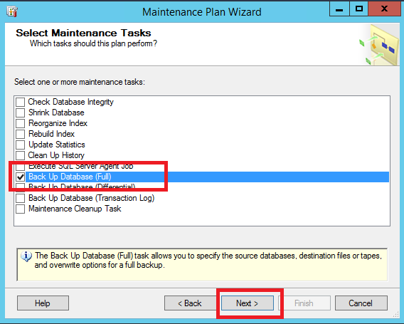 Configurazione Backup Automatico dei Database in Microsoft SQL Server 2016 Standard Edition