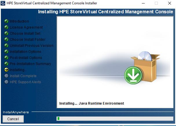 Installazione e Configurazione Base HPE StoreVirtual Centralized Management Console 12.6
