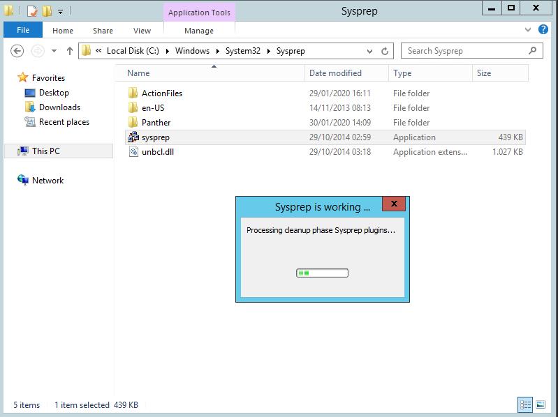 Eseguire Sysprep su una macchina virtuale in dominio dopo la clonazione