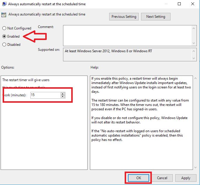 Schedulare l'installazione dei Windows Update in Windows Server 2016 e Windows Server 2012