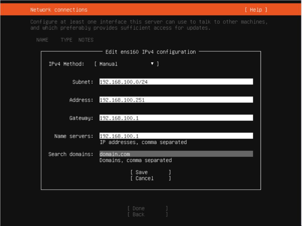 Installazione di Ubuntu Server 19.10