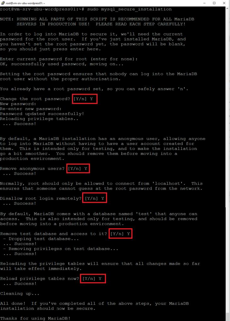 Installazione di Wordpress su Ubuntu Server 19.10 con Nginx, MariaDB e PHP 7.3-PFM