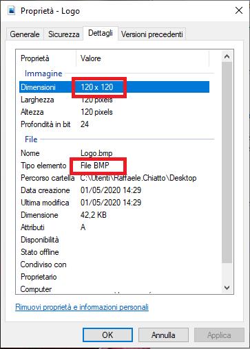 Aggiungere Informazioni OEM e logo nella pagina Proprietà e Impostazioni del sistema in Windows 10
