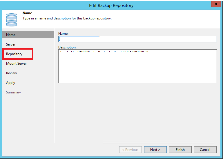 Errore Veeam Backup & Replication 10 - The request could not be performed because of an I/O device error {DataTransfer.SyncDisk}
