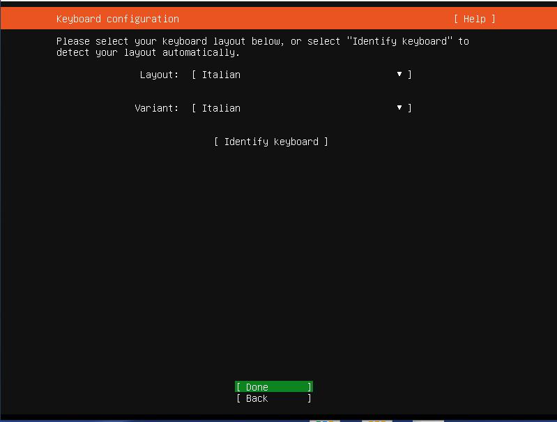 Installazione e Configurazione base di Ubuntu Server 20.04 LTS (Focal Fossa)