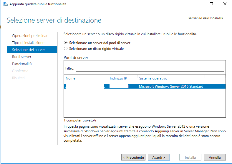 Installazione e Configurazione del Servizio Licenze Desktop Remoto in Windows Server 2016