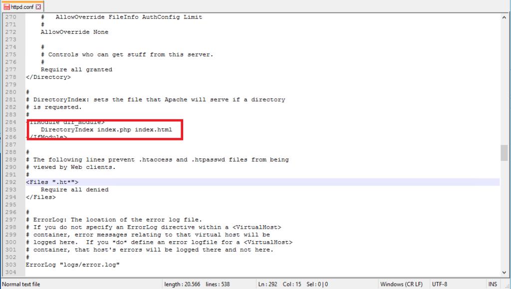 Installazione e Configurazione di Apache e PHP su Microsoft Windows Server 2016