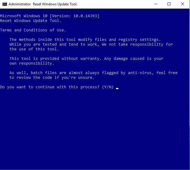 Risoluzione dell'Errore di Windows Update 0x80244007 - SOAP client failed