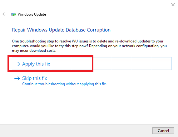 Risoluzione dell'Errore di Windows Update 0x80244010 - Exceeded max server round trips