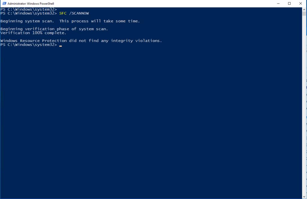 Riparare l'errore di Windows 0x800f081f dopo l'esecuzione dell'utility DISM