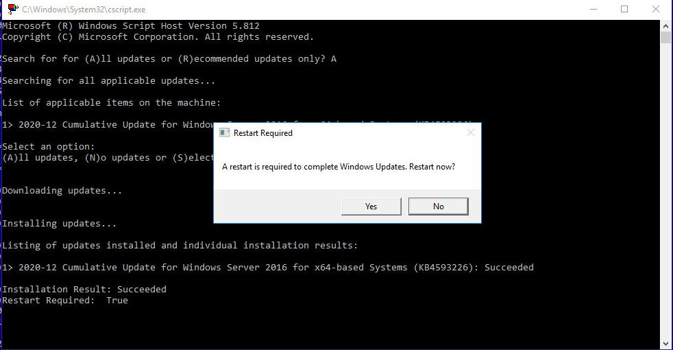 Risoluzione dell'Errore di Windows Update 0x800705b4 in Windows Server 2016