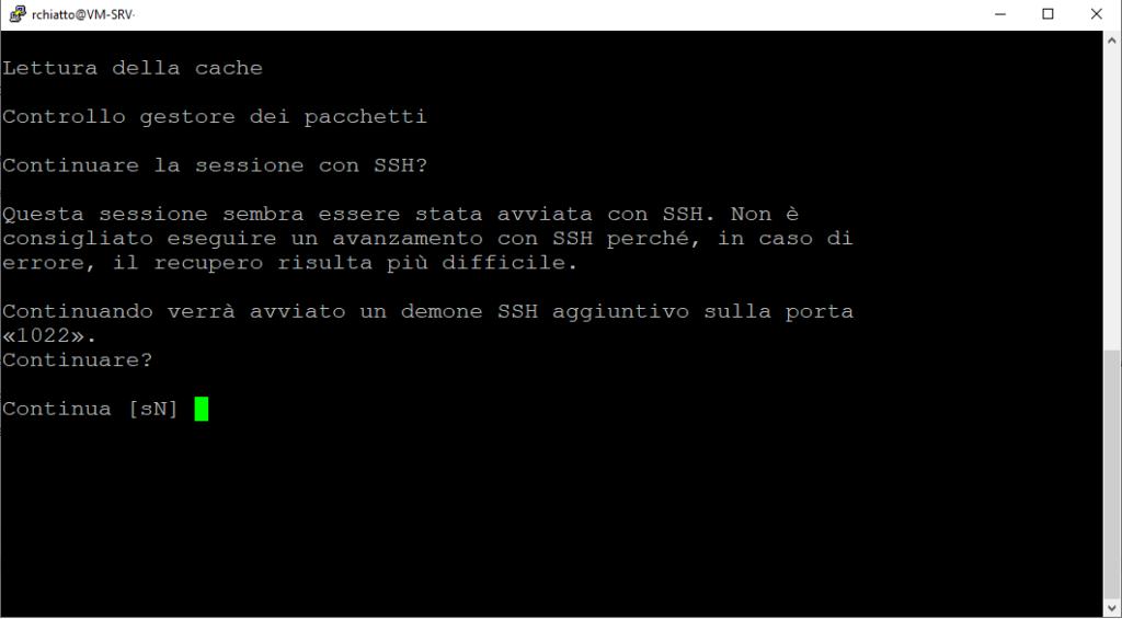 Upgrade dalla versione Ubuntu 16.04 alla versione Ubuntu 20.04
