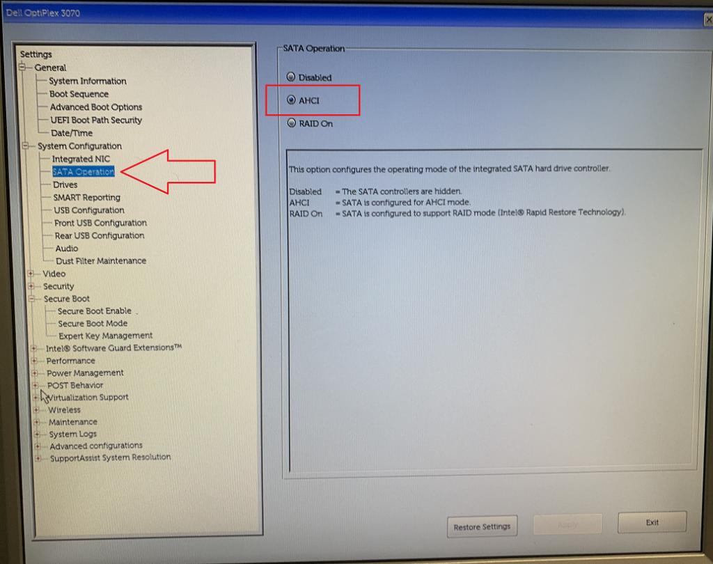 Installazione di VmWare ESXi 6.7 U3 su PC Dell OptiPlex 3070