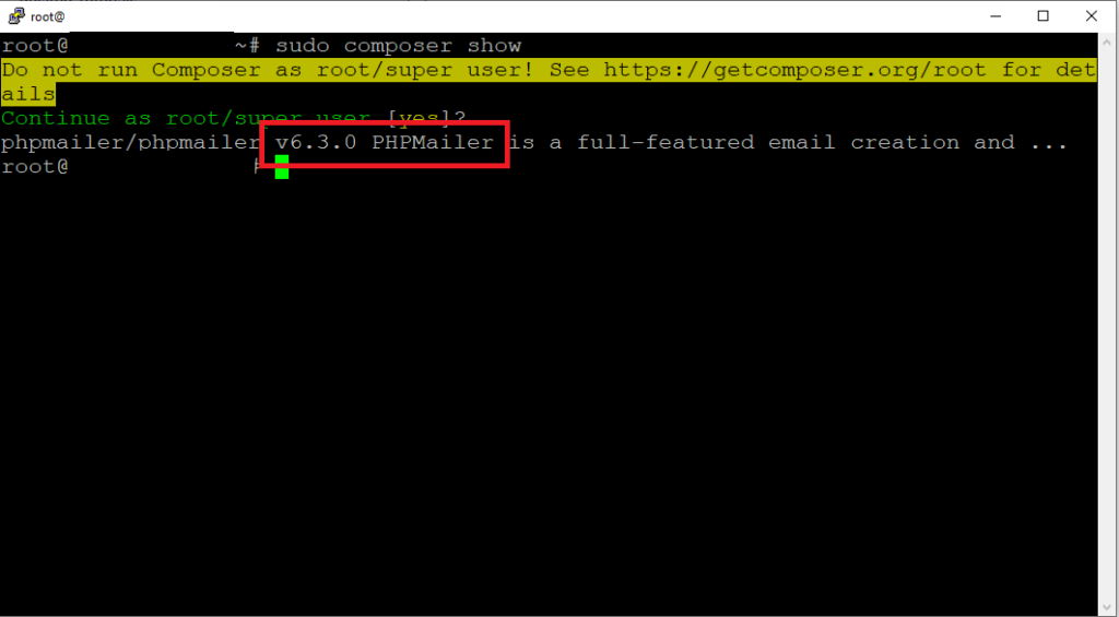 Errore PHPMailer: Error in email sending: SMTP connect() failed.