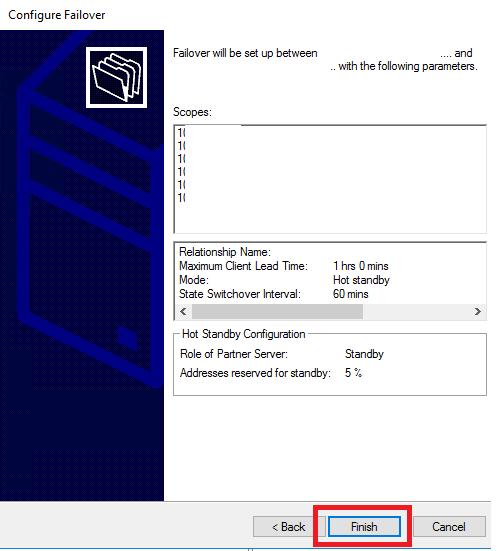 Configurazione e Automazione del DHCP Failover in Windows Server 2016