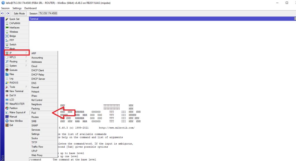 Configurazione Server OpenVPN su Mikrotik per accesso a Devices nella LAN interna